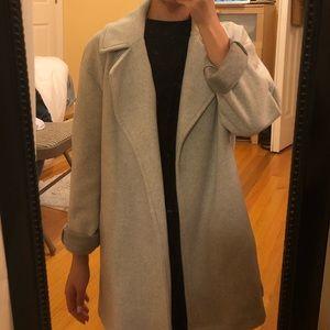 like NEW: Zara basic grey coat